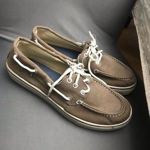 Other - Basic editions men's loafers slip on tan men 8.5